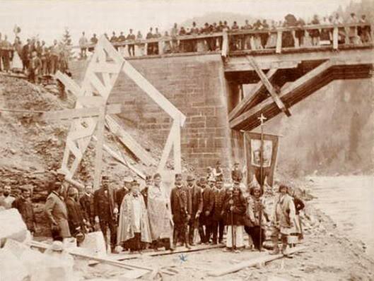 Яремче освячення будови 1894р.