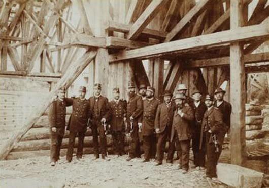Яремче інженери-колійовці 1890і