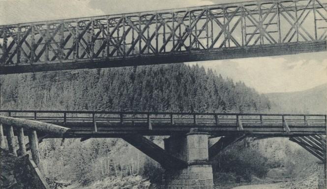 Яремче міст над Прутом