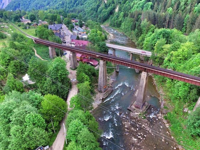 """Результат пошуку зображень за запитом """"залізничний міст у яремче"""""""